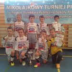 Złoty medal w Mikołajkowym Turnieju Piłki Nożnej