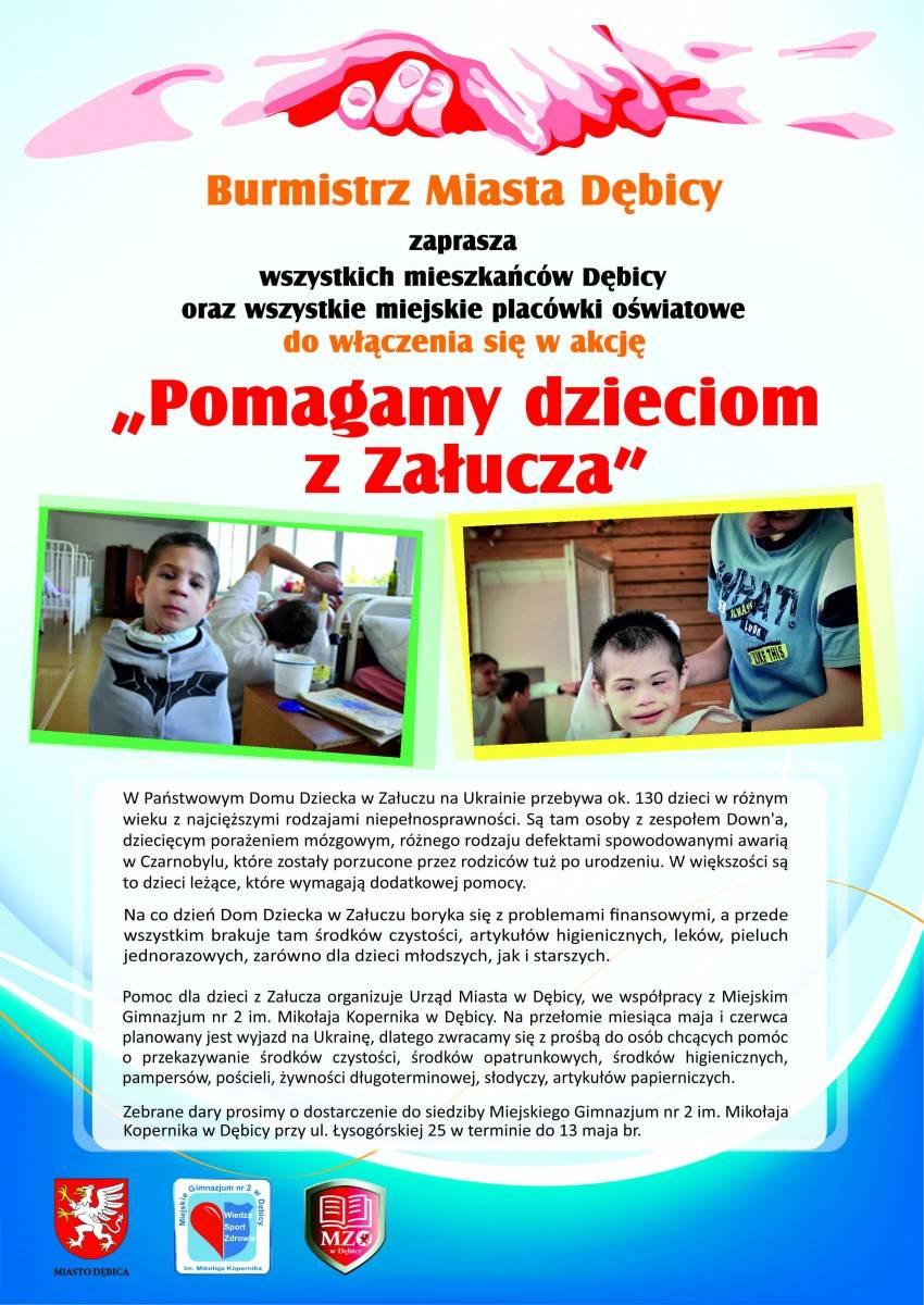 Pomagamy dzieciom z Załucza