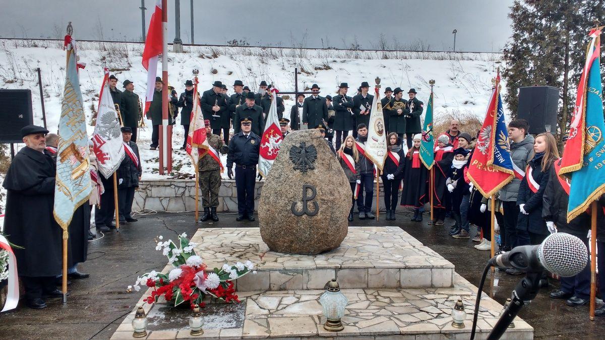 73. rocznica rozstrzelania zakładników obok cegielni