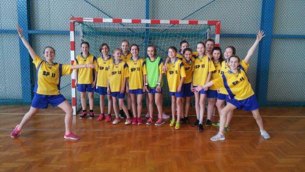 Etap rejonowy zawodów  w piłkę ręczną w ramach Igrzysk Młodzieży Szkolnej