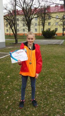 Dwa złote medale Anieli Bukowskiej, złoto i srebro Izabelli Furgał
