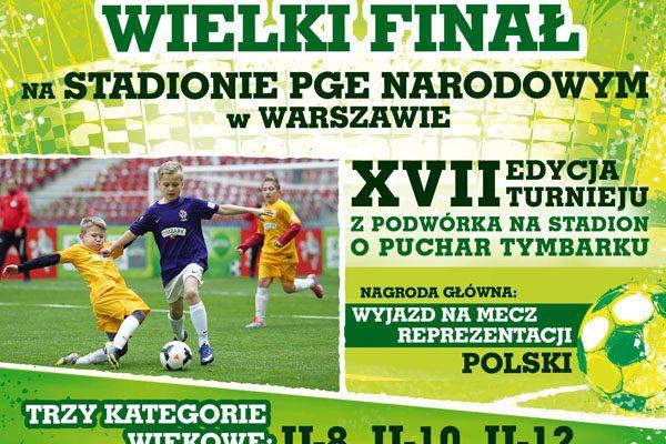 """Turniej """"Z Podwórka na Stadion o Puchar Tymbarku"""""""