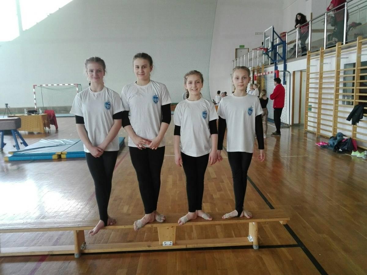 Finał Wojewódzki Igrzysk Młodzieży Szkolnej w gimnastyce
