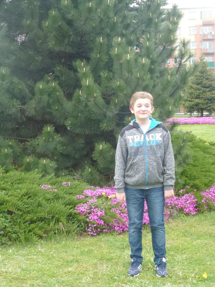 Kacper Stefan Laureat Kuratoryjnego konkursu z języka niemieckiego