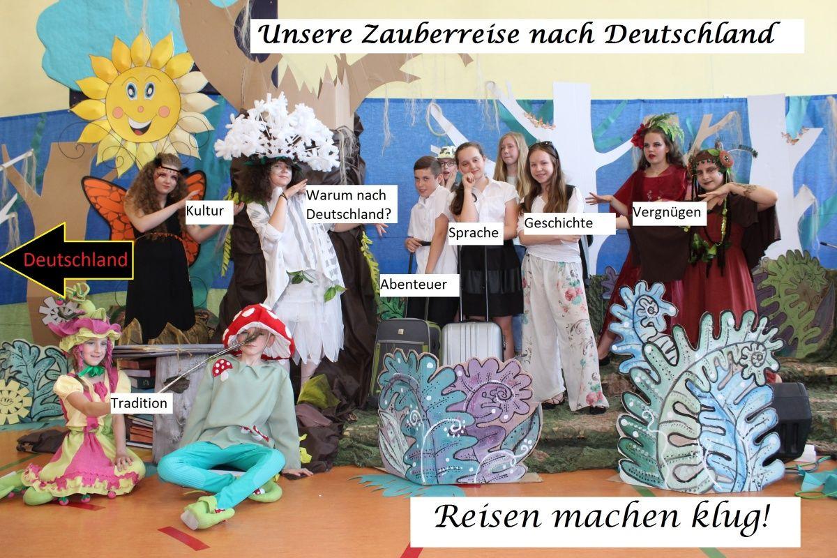"""II miejsce w Ogólnopolskim projekcie """"Erlebnisreise mit Deutsch"""""""