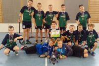 Brązowe medale dziewcząt i chłopców w unihokeja