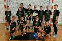 Srebrny medal chłopców w szczypiorniaka