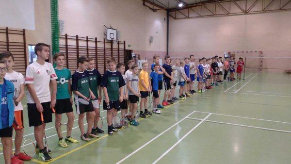 Zawody w badmintona