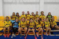 Złoty medal dziewcząt w mini piłkę ręczną
