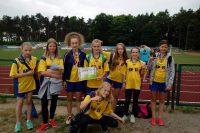 Srebrne medale dziewcząt  w 4-boju LA i drugie miejsce w powiecie dębickim