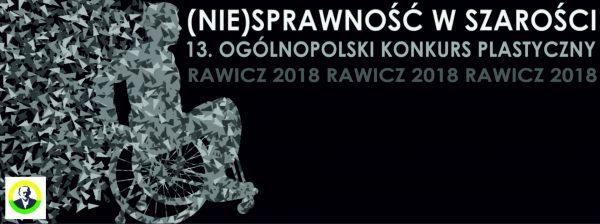 """Wyniki Ogólnopolskiego Konkursu Plastycznego """"(Nie)sprawność w szarości"""""""