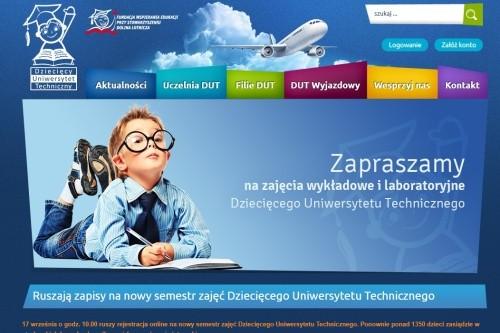 Ruszają zapisy na nowy semestr zajęć Dziecięcego Uniwersytetu Technicznego