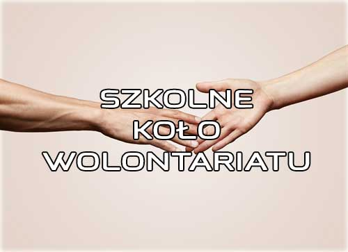 Konkurs na nazwę i logo Szkolnego Koła Wolontariatu
