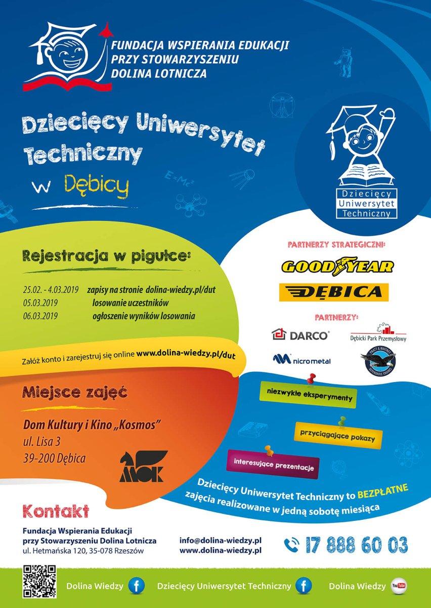 Rusza rejestracja na Dziecięcy Uniwersytet Techniczny