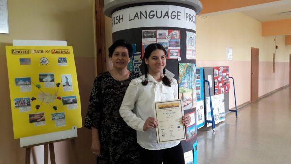 Wyróżnienie w konkursie międzynarodowym