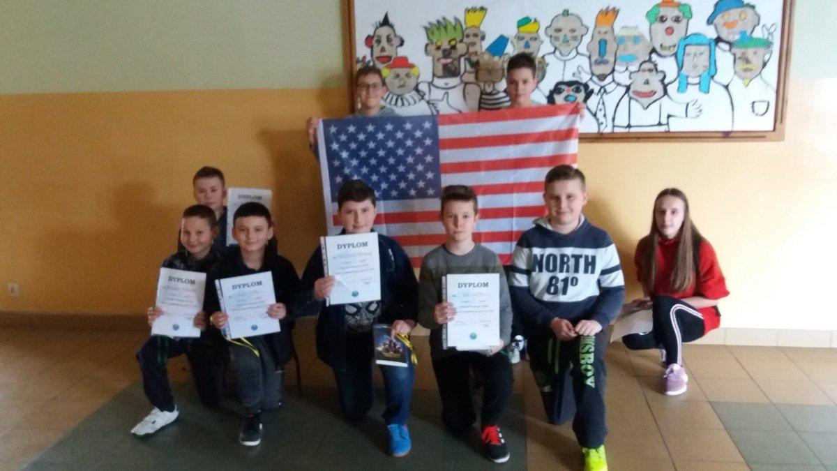 Szkolny Konkurs Wiedzy o Stanach Zjednoczonych