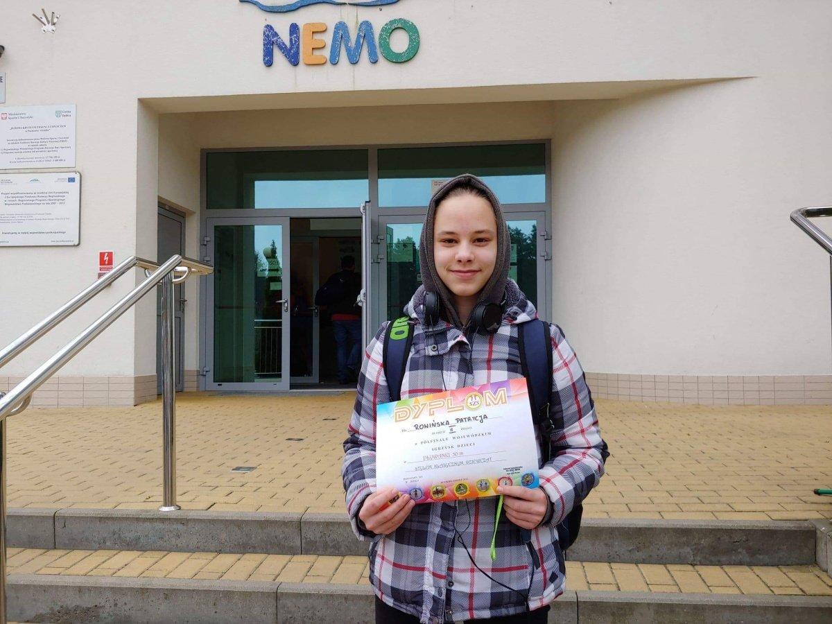 Uczennica SP 11 wystąpi w finale pływackich Igrzysk Dzieci