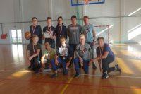 Koszykówka – srebro dla chłopców