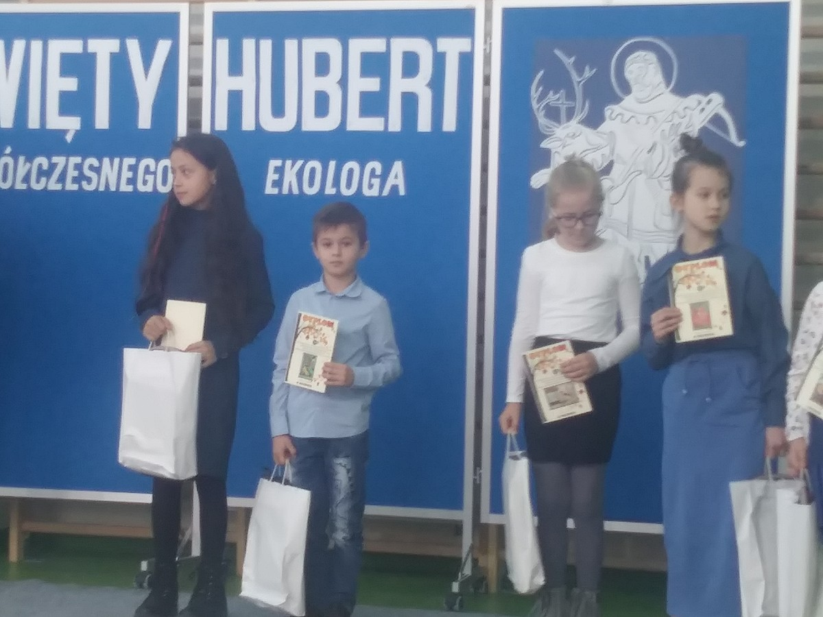 II miejsce w Wojewódzkim Konkursie Twórczości Plastycznej Dzieci i Młodzieży