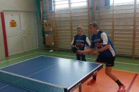 IV miejsce chłopców w tenisa stołowego
