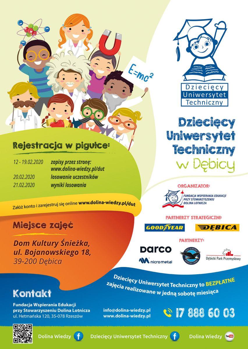 Dziecięcy Uniwersytet Techniczny w Dębicy