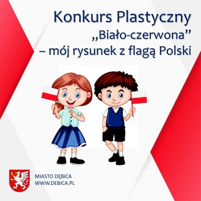 """Konkurs plastyczny """"Biało-czerwona"""""""