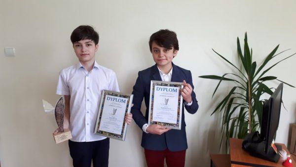 Nasi uczniowie wśród najlepszych w województwie!