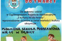 """Ogólnopolski Projekt Edukacyjny """"Z Kulturą Mi do Twarzy"""" 2020"""